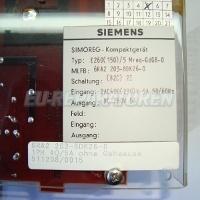 TYPENSCHILD SIEMENS 6RA22 STROMRICHTER