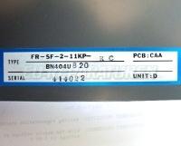 8 TYPENSCHILD FR-SF-2-11KP-RC BN404U820
