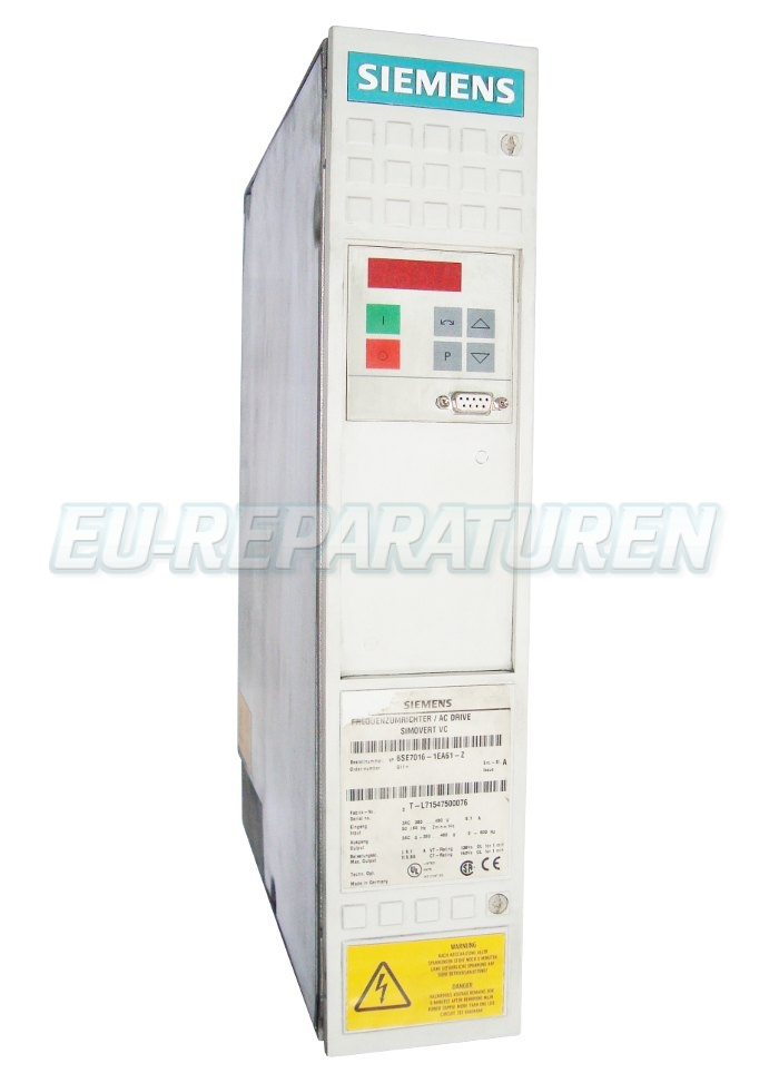 Reparatur Siemens 6SE7016-1EA61-Z AC DRIVE