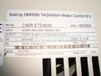 5 TYPENSCHILD CIMR-E7Z4030 OMRON
