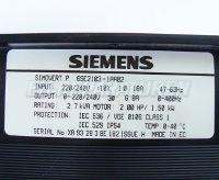 4 SIEMENS TYPENSCHILD 6SE2103-1AA02