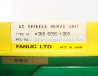 5 TYPENSCHILD FANUC A06B-6059-H206