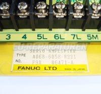 5 TYPENSCHILD FANUC A06B-6058-H221
