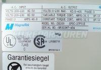4 TYPENSCHILD DS309 MAGNETEK