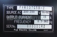 5 TYPENSCHILD FVR037G5B-2 FUJI ELECTRIC