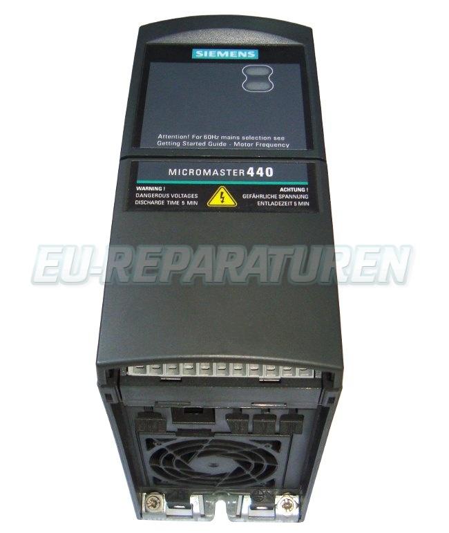 Reparatur Siemens 6SE6440-2UD17-5AA1 AC DRIVE
