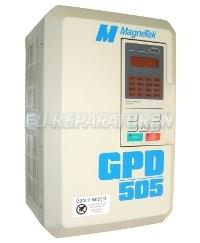 1 MAGNETEK REPARATUR GPD505V-B014LV FREQUENZUMRICHTER