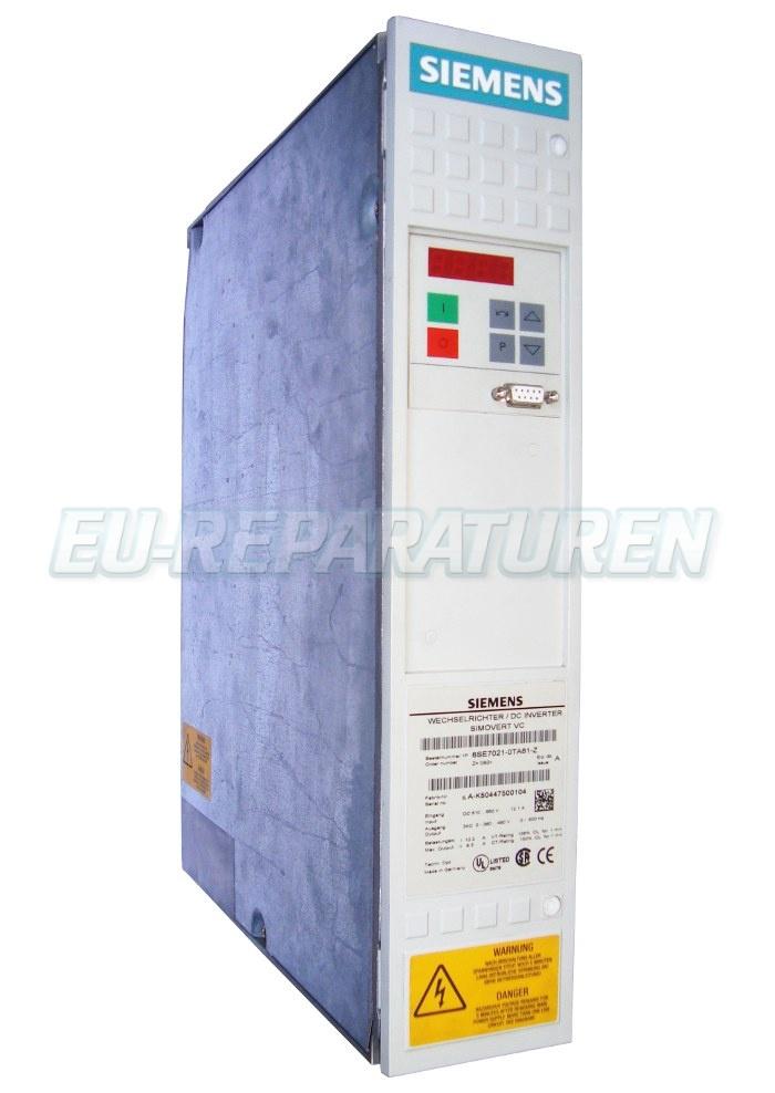 Reparatur Siemens 6SE7021-0TA61-Z AC DRIVE