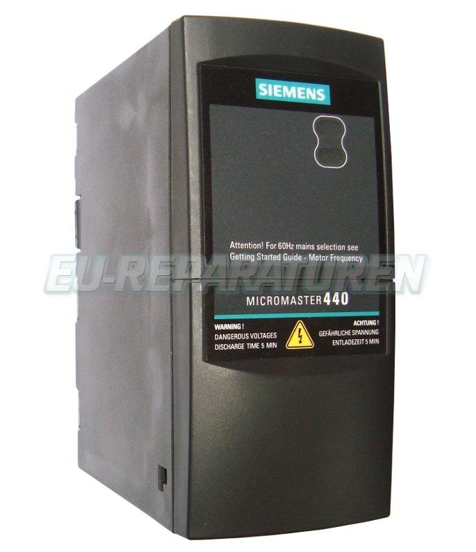 Reparatur Siemens 6SE6440-2AB15-5AA1 AC DRIVE