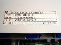 5 TYPENSCHILD CIMR-VMS4011