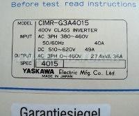 4 TYPENSCHILD CIMR-G3A4015