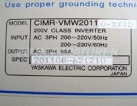 5 TYPENSCHILD CIMR-VMW20110-XXXD