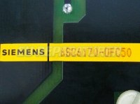 4 SIEMENS TYPENSCHILD 6SC6170-0FC50