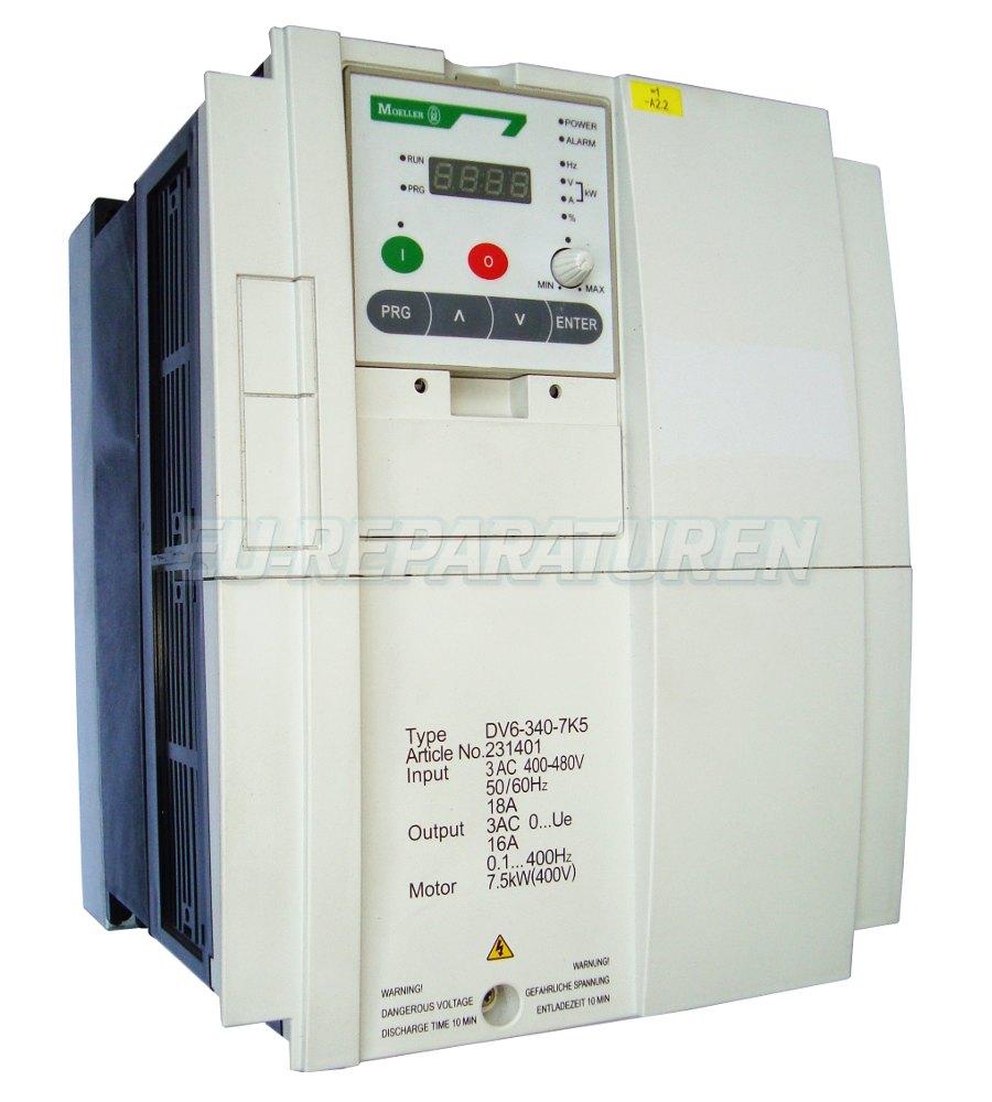 Reparatur Moeller DV6-340-7K5 AC DRIVE