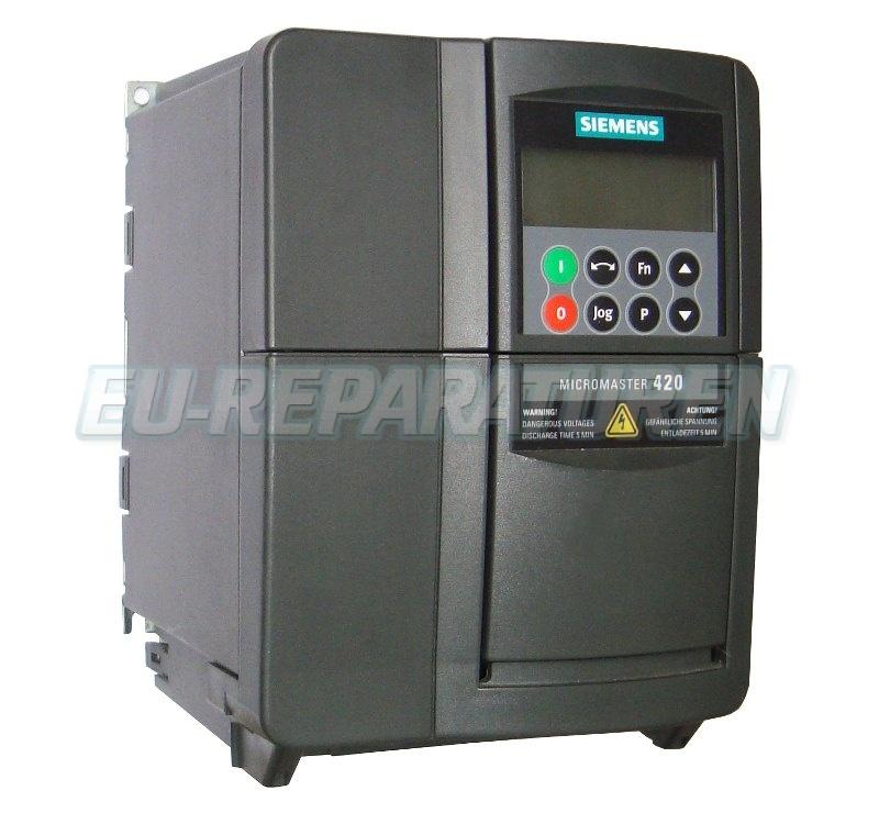 Reparatur Siemens 6SE6420-2AD22-2BA0 AC DRIVE