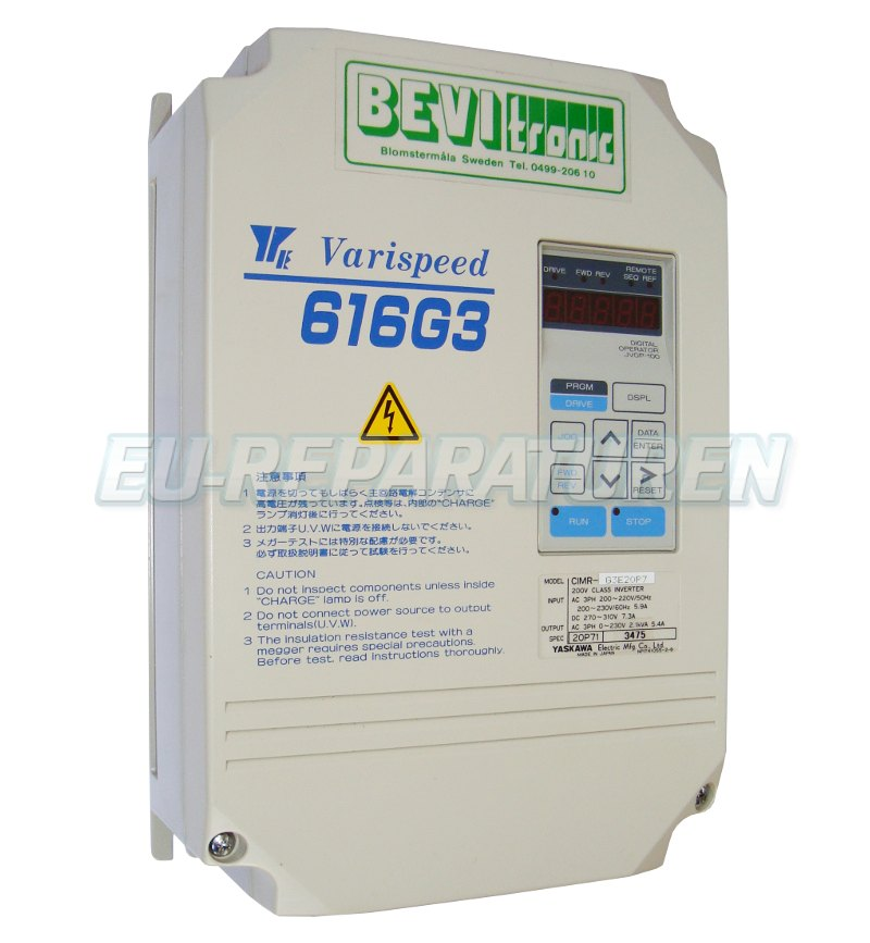 Reparatur Yaskawa CIMR-G3E20P7 AC DRIVE