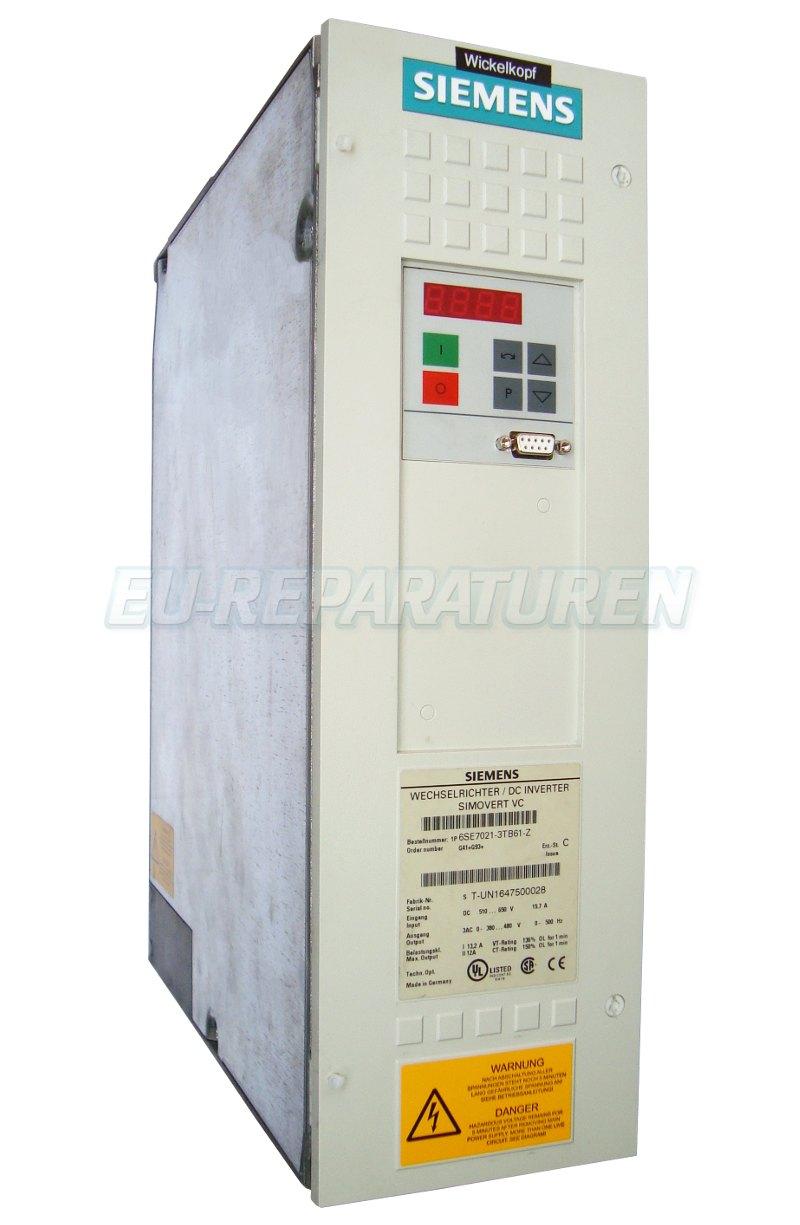 Reparatur Siemens 6SE7021-3TB61-Z AC DRIVE