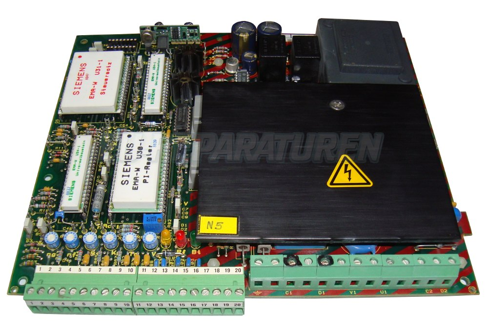 Reparatur Siemens 6RA2211-8DD20-0 DC DRIVE