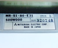4 TYPENSCHILD MR-S1-80-E31