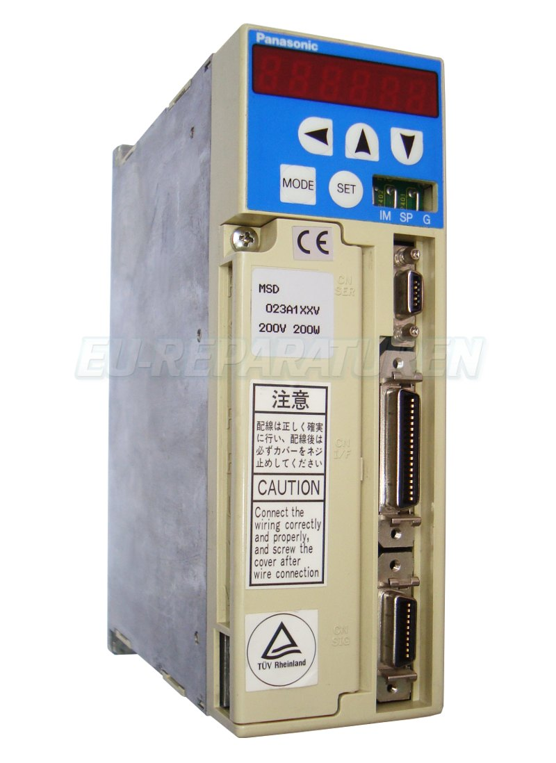Reparatur Panasonic MSD023A1XXV AC DRIVE