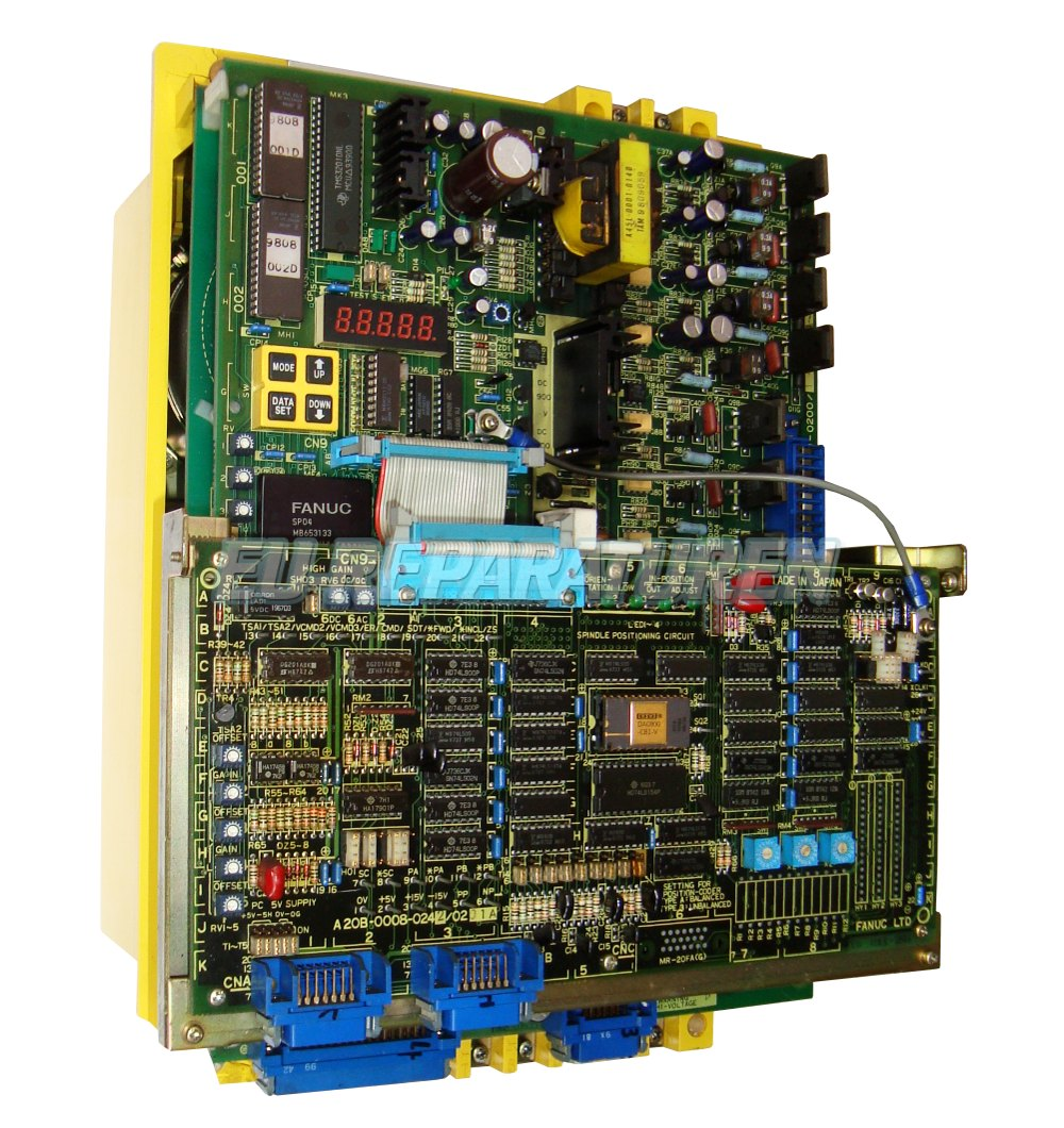 Reparatur Fanuc A06B-6059-H002 AC DRIVE