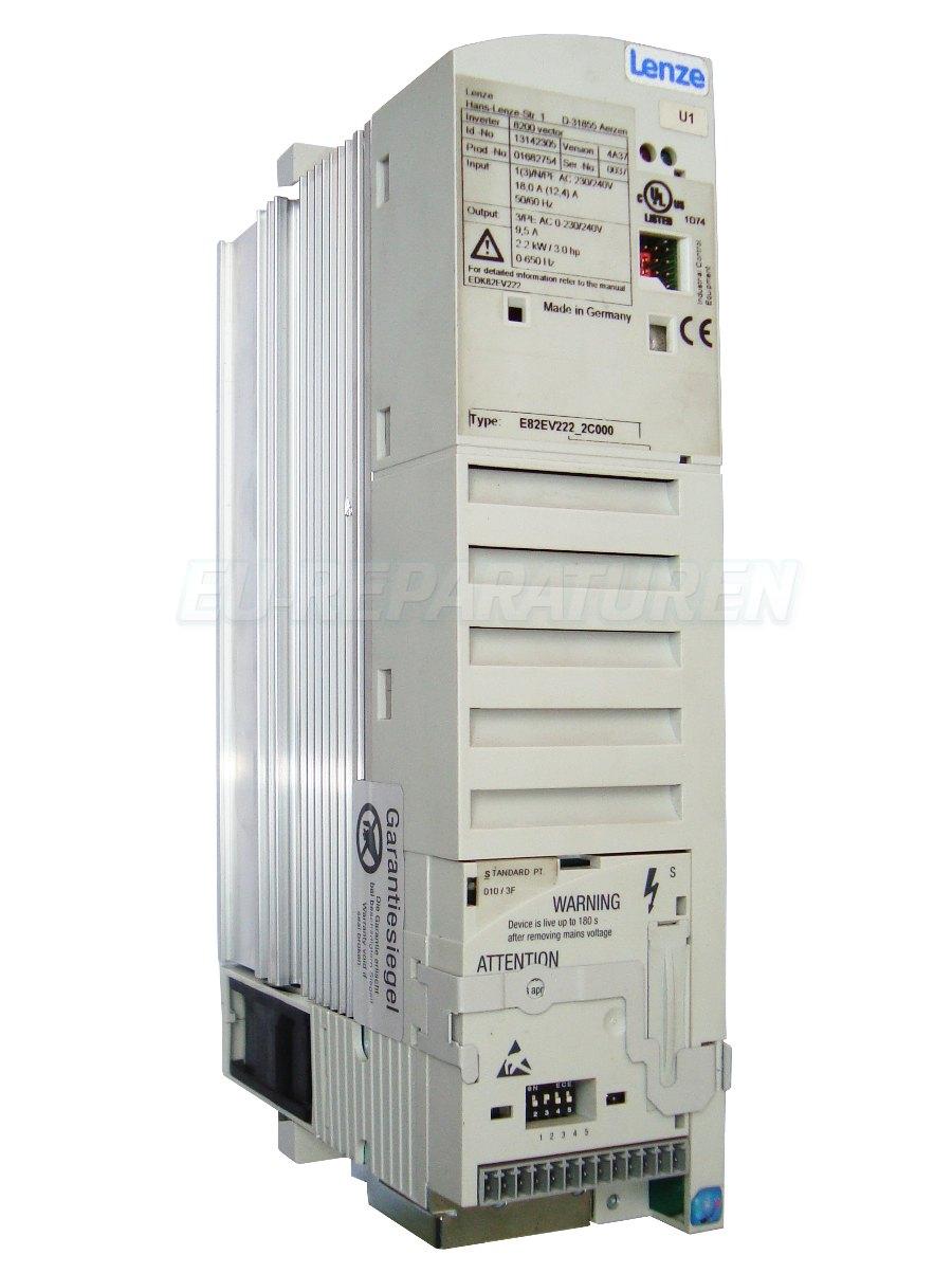 Reparatur Lenze E82EV222_2C000 AC DRIVE