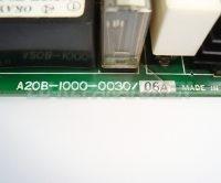 3 TYPENSCHILD FANUC A20B-1000-0030-05A