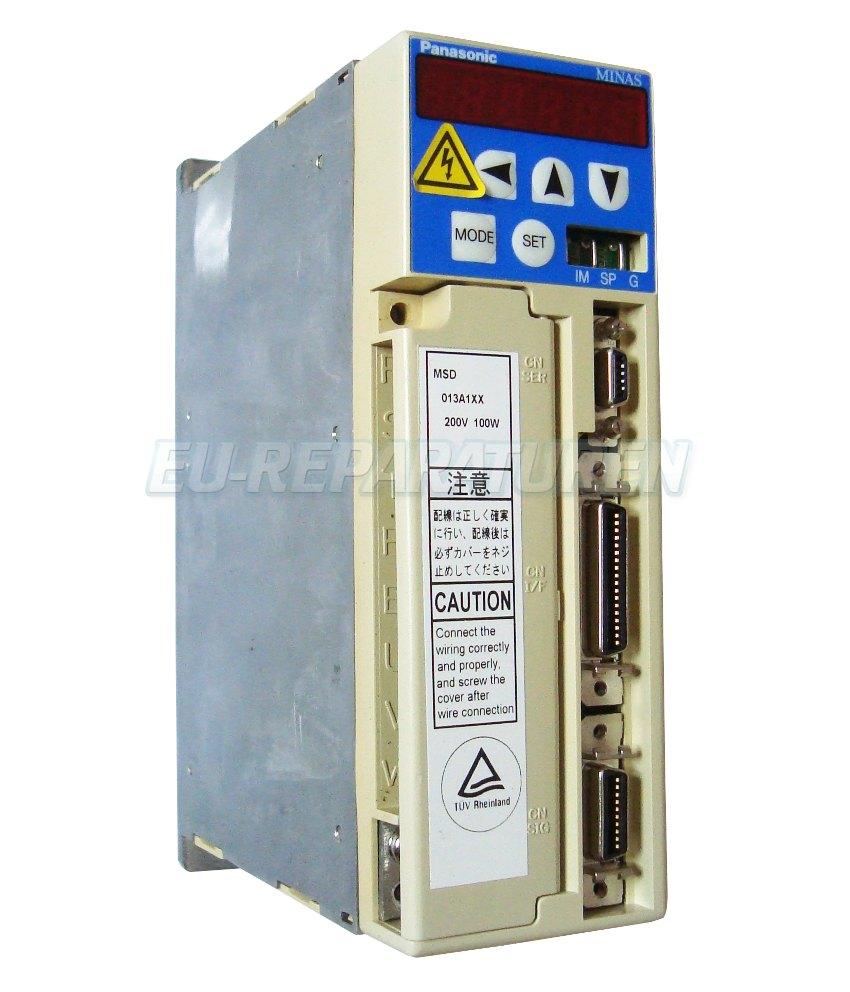Reparatur Panasonic MSD013A1XX AC DRIVE