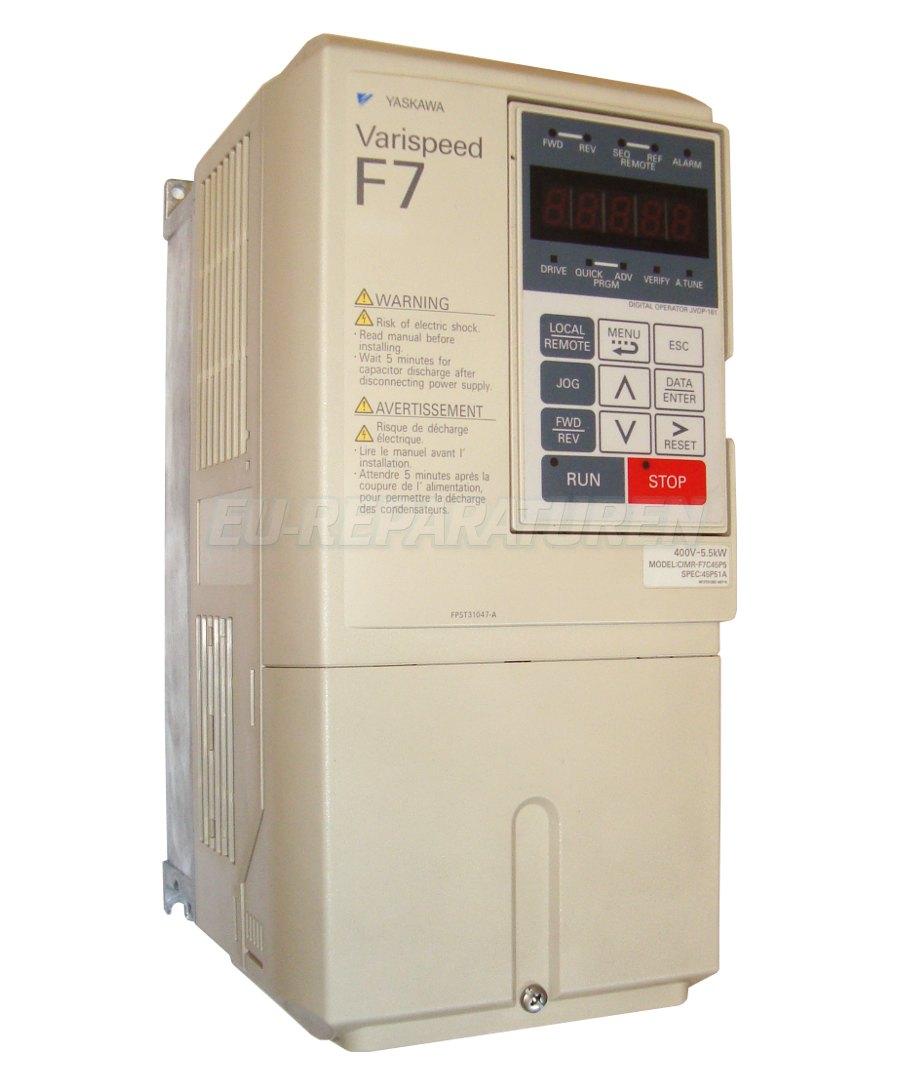 Reparatur Yaskawa CIMR-F7C45P5 AC DRIVE