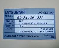 4 TYPENSCHILD MR-J200A-D33