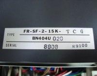 4 TYPENSCHILD FR-SF-2-15K-TCG