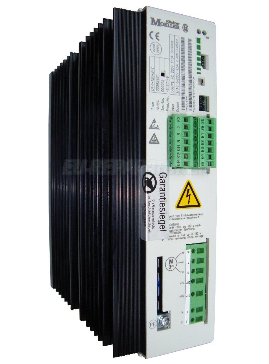 Reparatur Moeller DF4-120-2K2 AC DRIVE