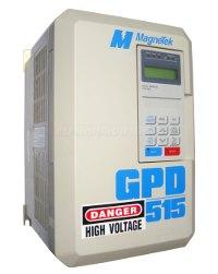 1 REPARATUR GPD515C-A025 MAGNETEK FREQUENZUMRICHTER