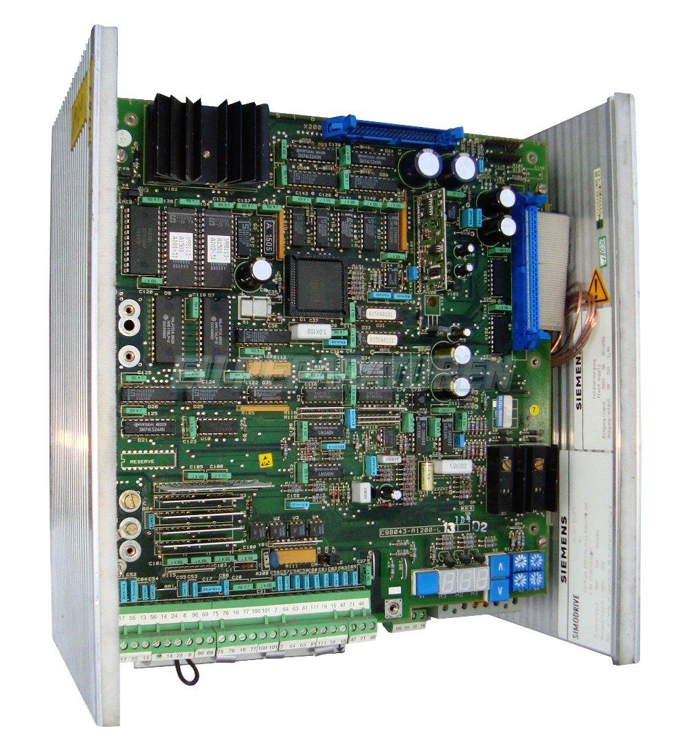 Reparatur Siemens 6RA2718-6DV55-0 DC DRIVE
