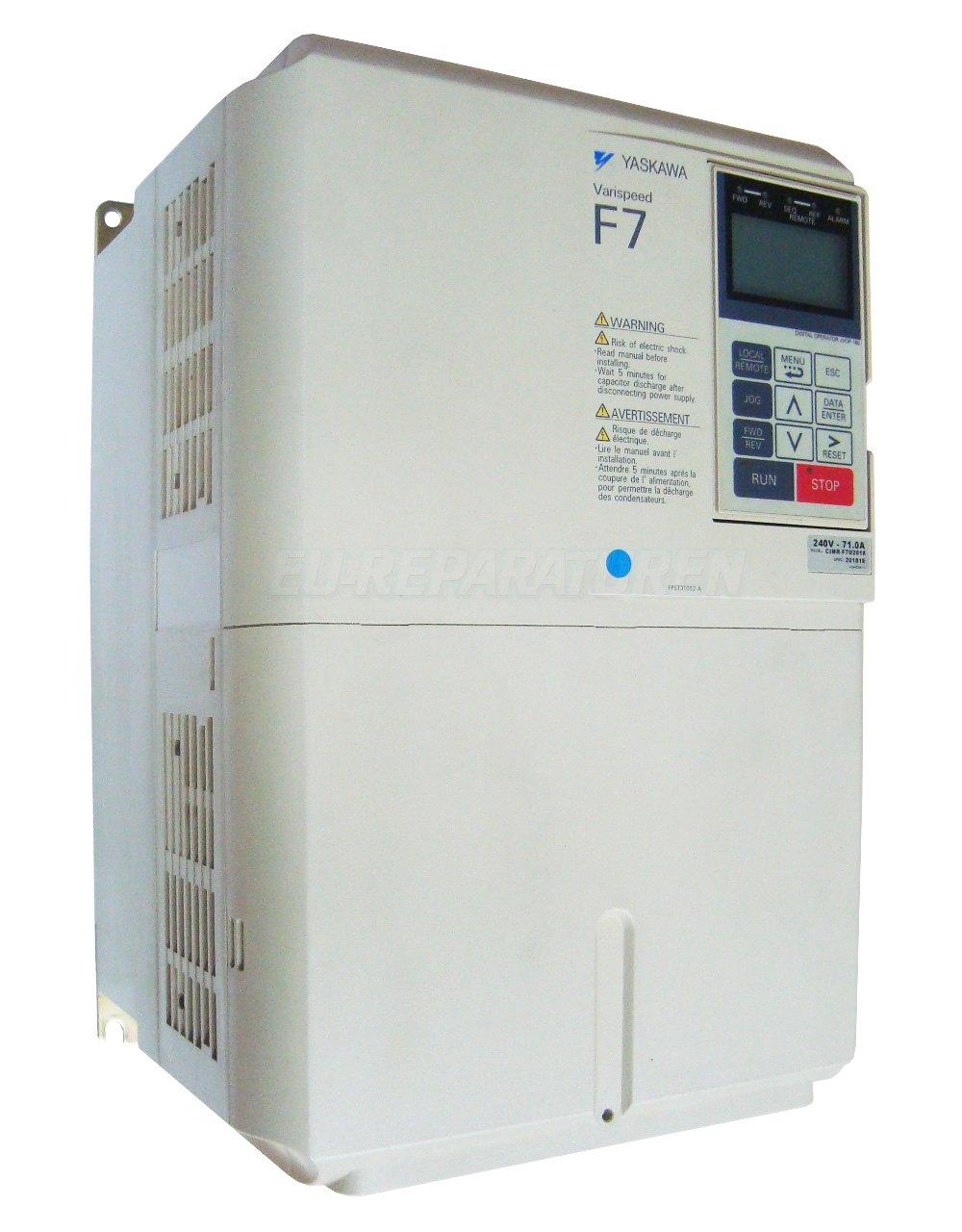 Reparatur Yaskawa CIMR-F7U2018 AC DRIVE