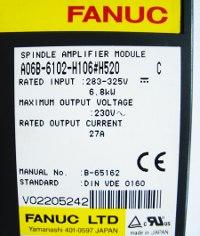 4 TYPENSCHILD A06B-6102-H106