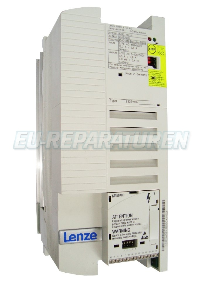 Reparatur Lenze E82EV402_4C040 AC DRIVE