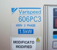 5 VARISPEED 606PC3 REPARIEREN