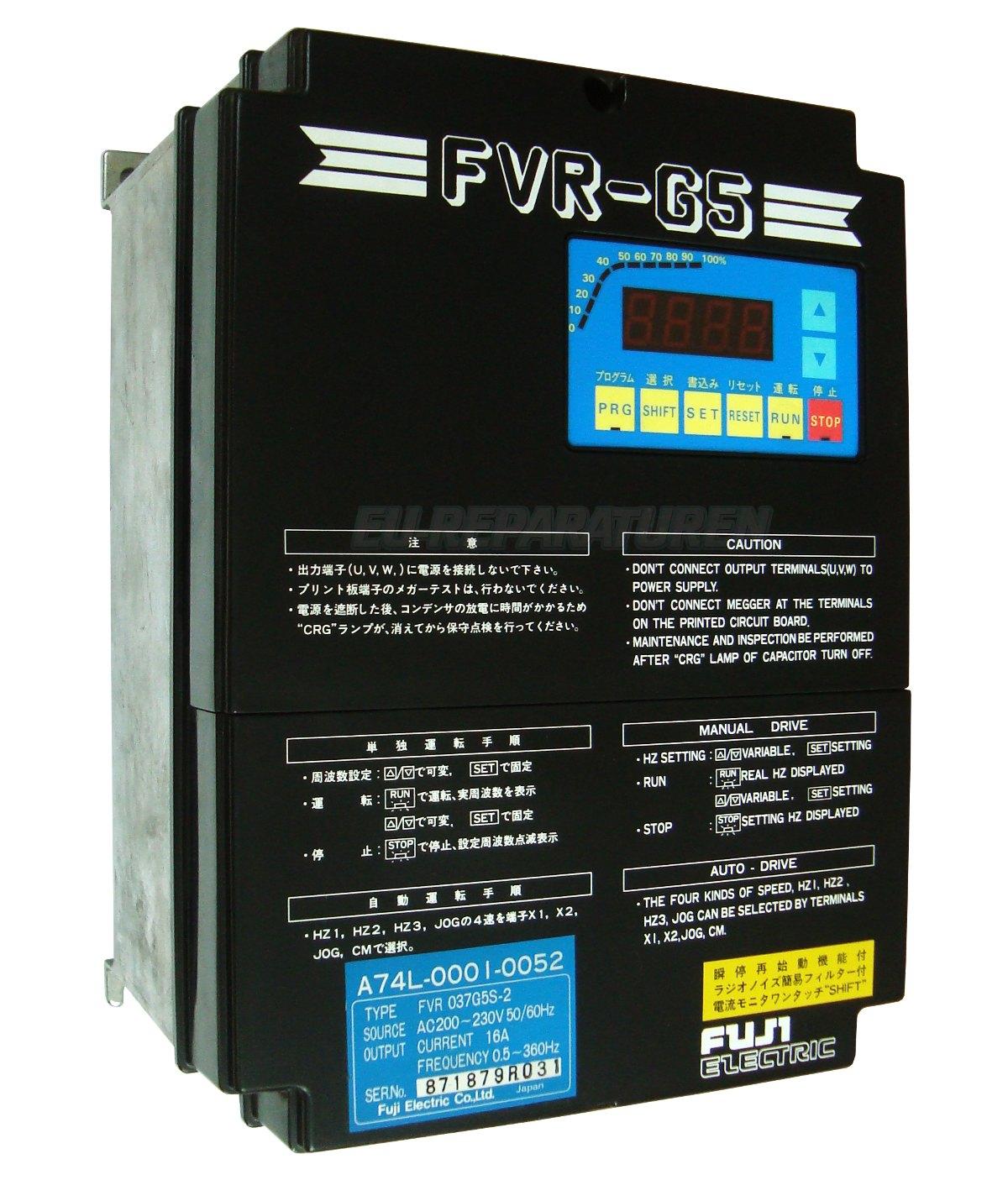Reparatur Fuji Electric FVR037G5S-2 AC DRIVE