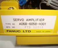 4 CHEAP REPAIR A06B-6058-H301 FANUC