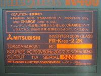 4 MITSUBISHI FR-K420-2.2K