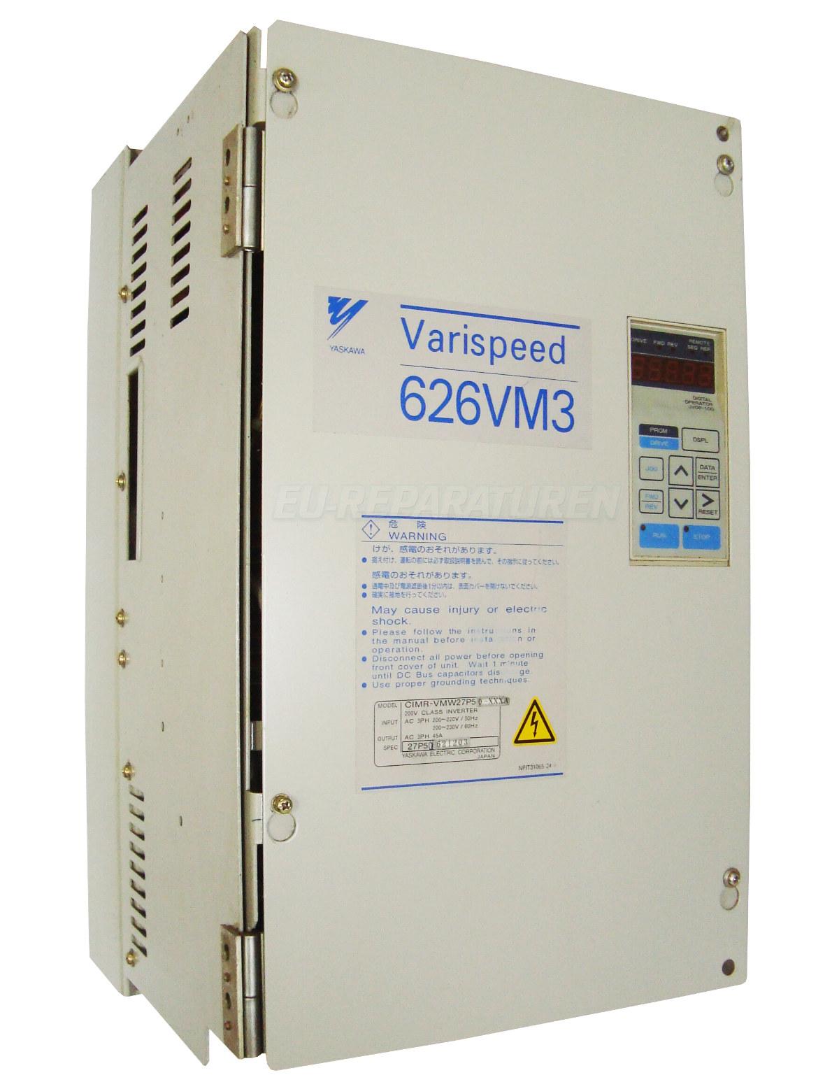 Reparatur Yaskawa CIMR-VMW27P50-XXXA AC DRIVE