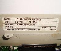 5 TYPENSCHILD CIMR-VMW27P50-XXXA