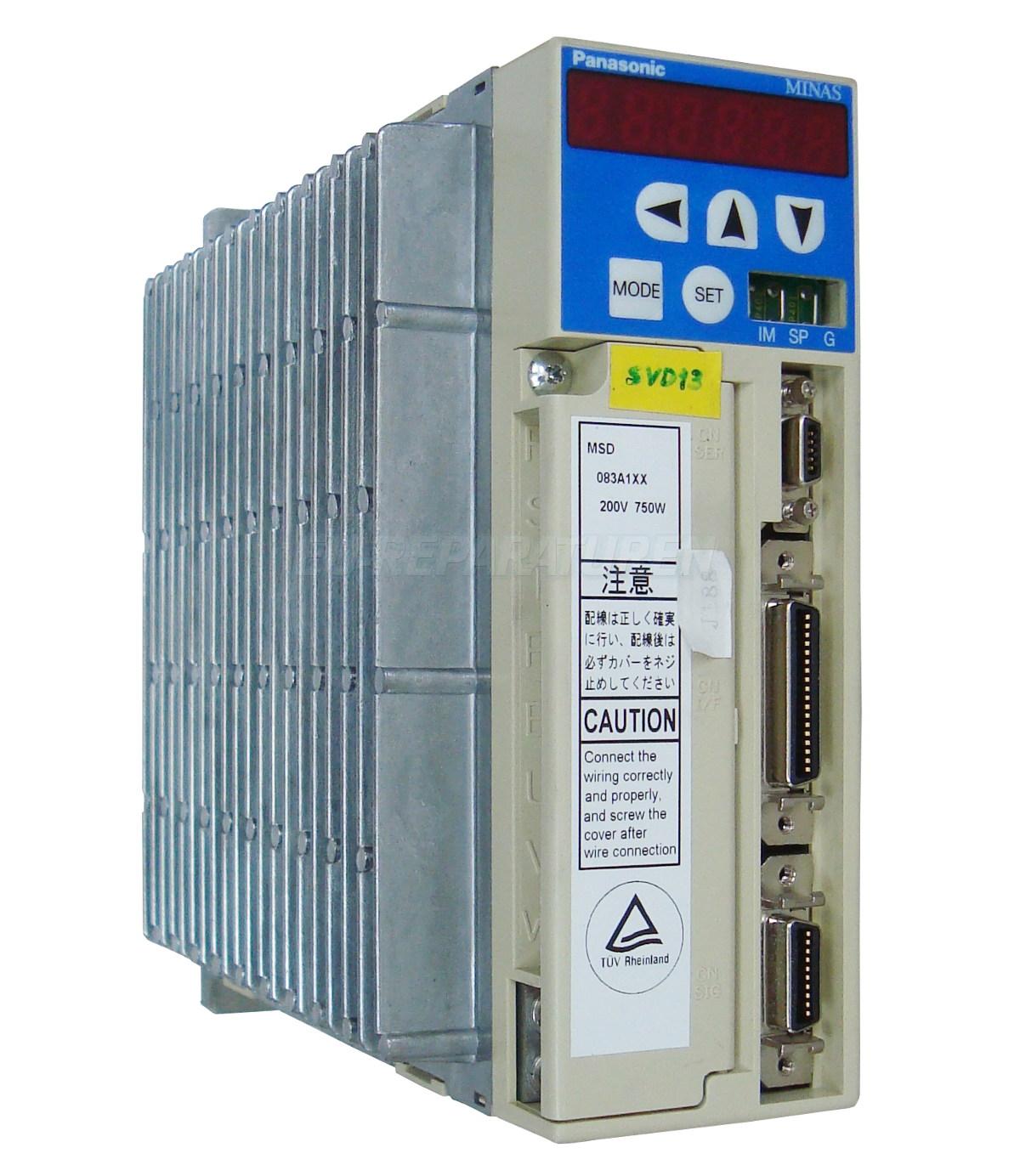 Reparatur Panasonic MSD083A1XX AC DRIVE