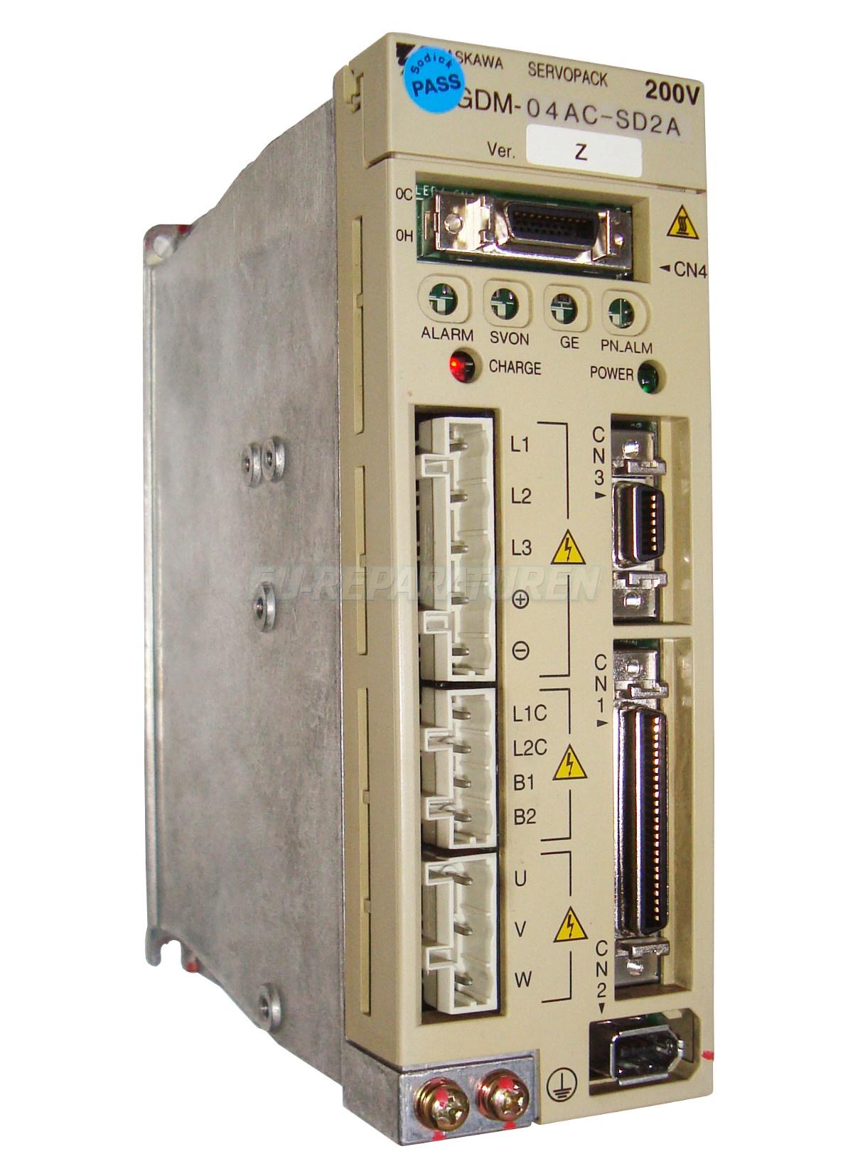 Reparatur Yaskawa SGDM-04AC-SD2A AC DRIVE
