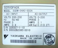3 SHOP SGDM-04AC-SD2A YASKAWA BESTELLEN