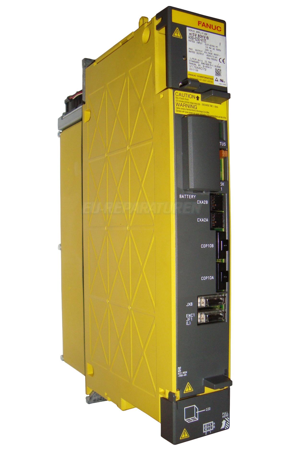 Reparatur Fanuc A06B-6290-H105 AC DRIVE