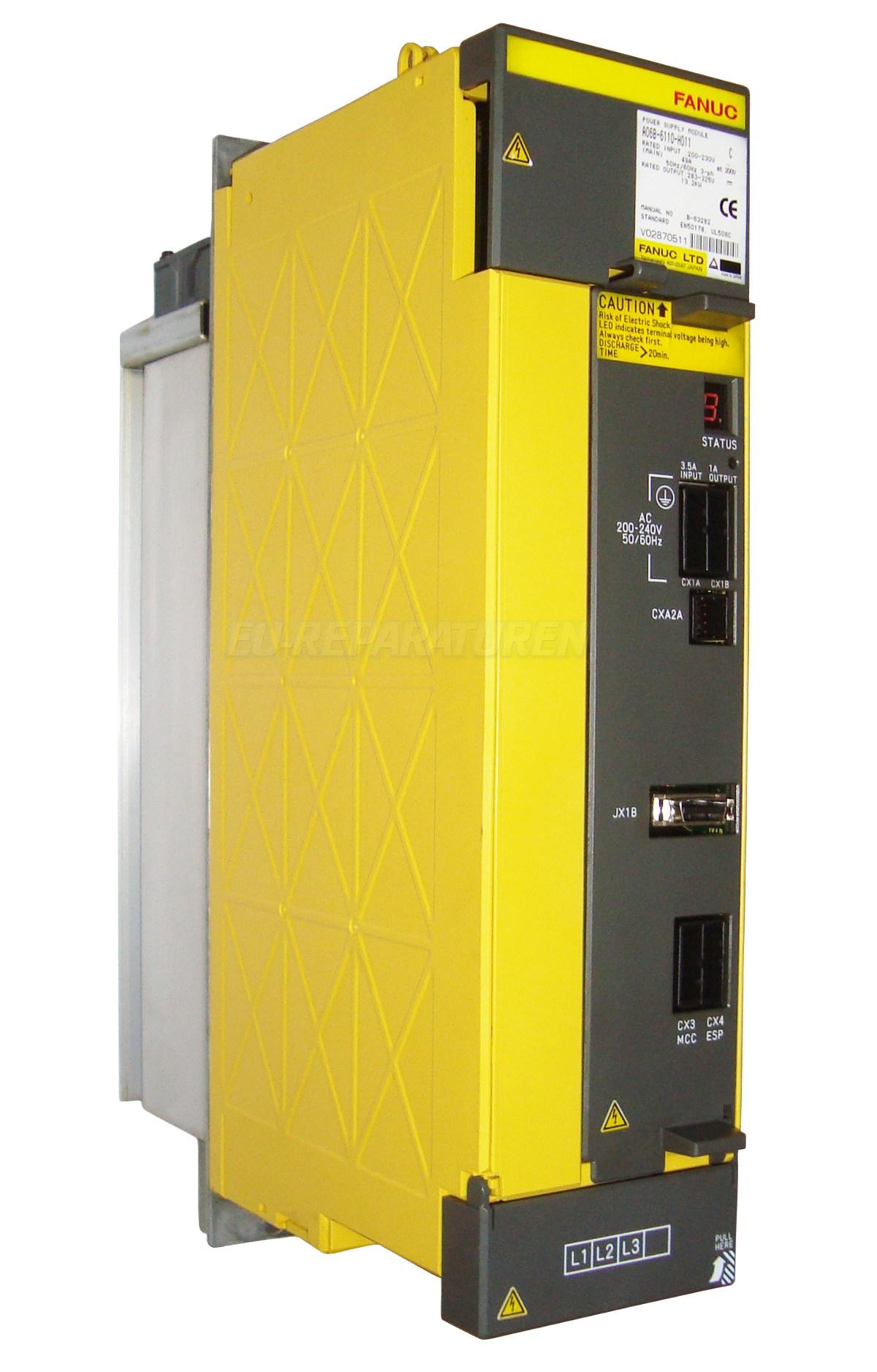 Reparatur Fanuc A06B-6110-H011 POWER SUPPLY