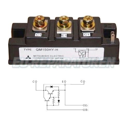 Weiter zum Artikel: MITSUBISHI ELECTRIC QM150HY-H TRANSISTOR MODULE