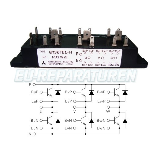 SHOP, Kaufen: MITSUBISHI ELECTRIC QM30TB1-H TRANSISTOR MODULE